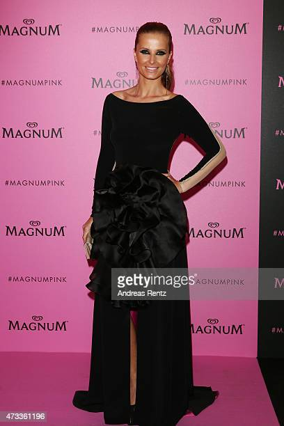 Cristina Ferreira attends the Magnum 'Pink and Black' party during the 68th annual Cannes Film Festival on May 14 2015 in Cannes France