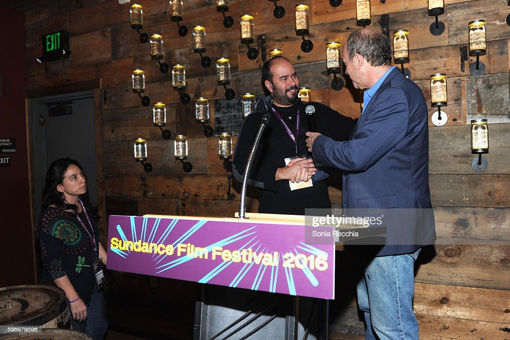 Cristina Gallego Cirro Guerra and Doron Weber attend the Alfred P Sloan Foundation Reception and Prize Announcement during the 2016 Sundance Film...