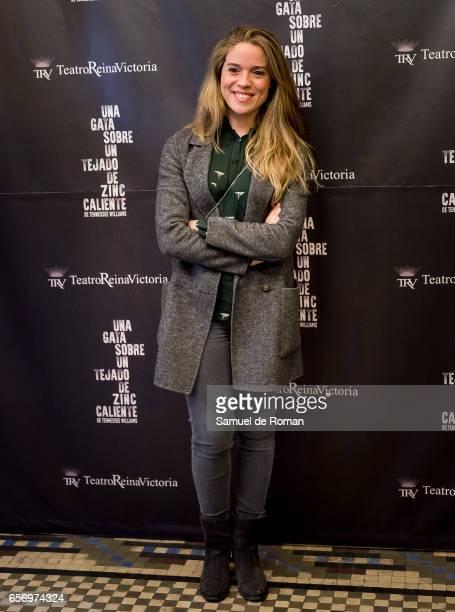Cristina Lasvignes attends 'Una Gata Sobre Un Tejado de Zinc Caliente' Madrid Premiere on March 23 2017 in Madrid Spain