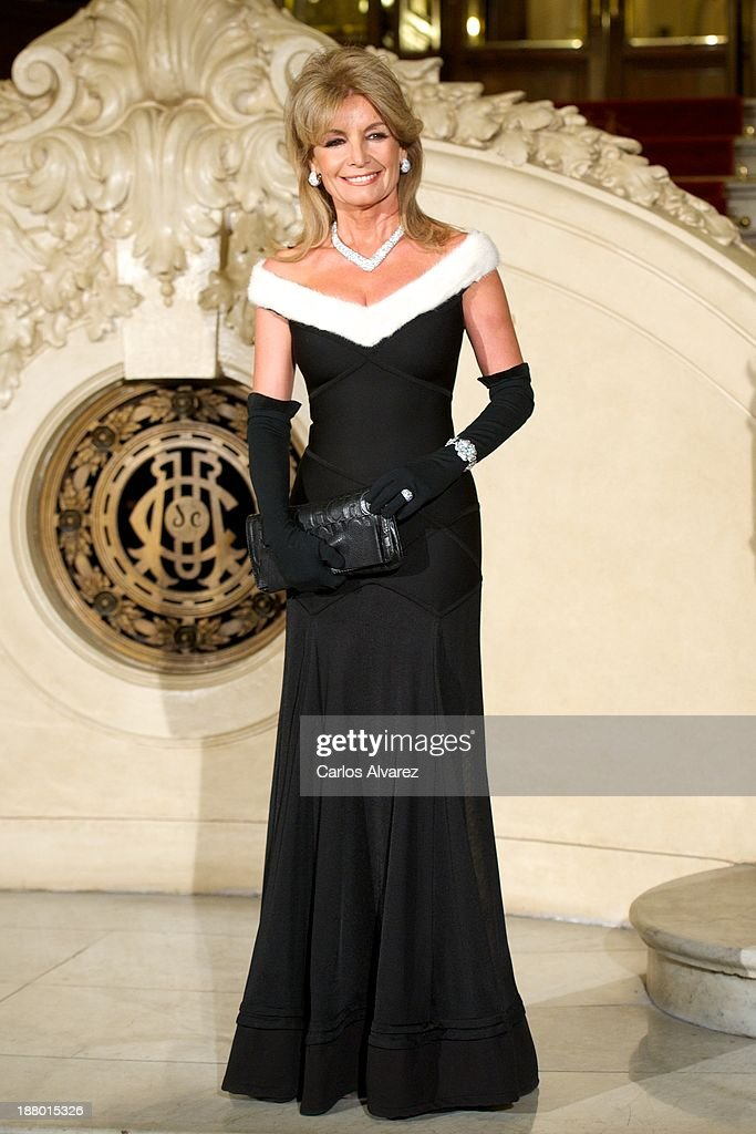 Cristina Llanes attends the Ralph Lauren Dinner Charity Gala at the Casino de Madrid in on November 14, 2013 in Madrid, Spain.