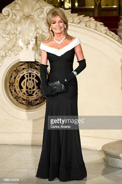 Cristina Llanes attends the Ralph Lauren Dinner Charity Gala at the Casino de Madrid in on November 14 2013 in Madrid Spain