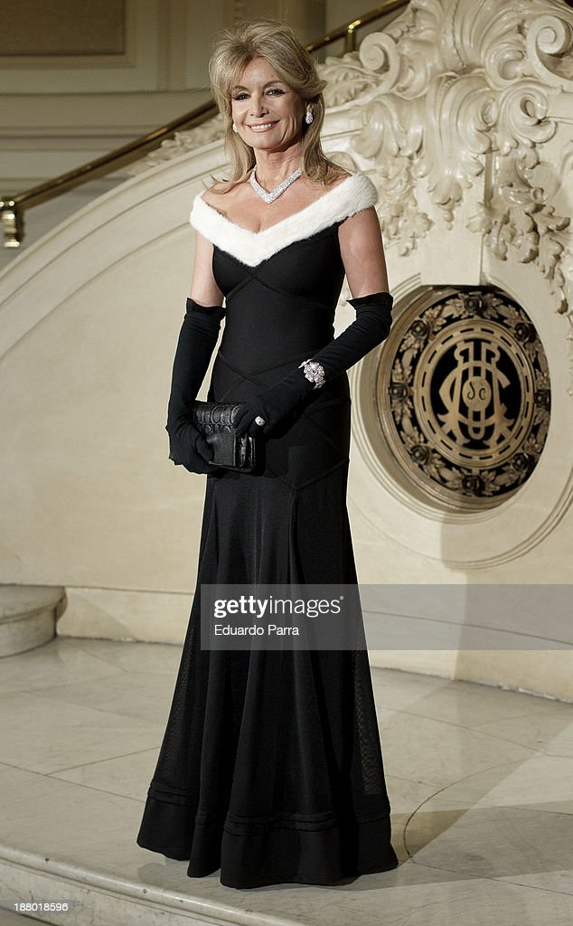 Cristina Llanes attends the Ralph Lauren Dinner Charity Gala at the Casino de Madrid on November 14, 2013 in Madrid, Spain.
