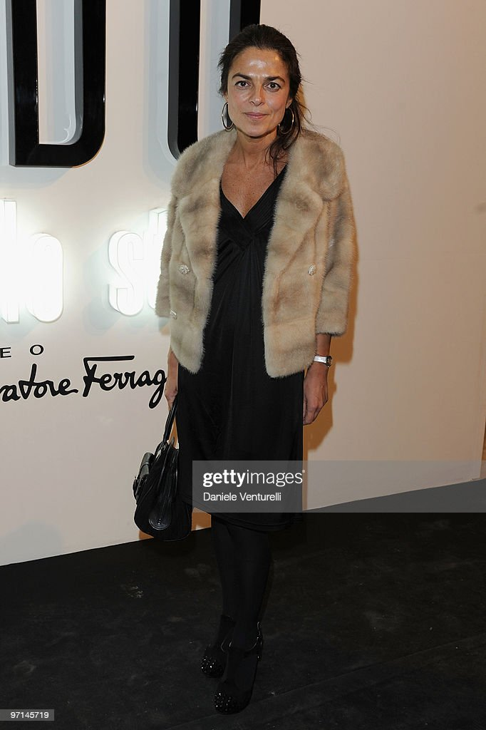 Cristina Lucchini of Vanity Fair attend 'Greta Garbo. The Mystery Of Style' opening exhibition during Milan Fashion Week Womenswear A/W 2010 on February 27, 2010 in Milan, Italy.