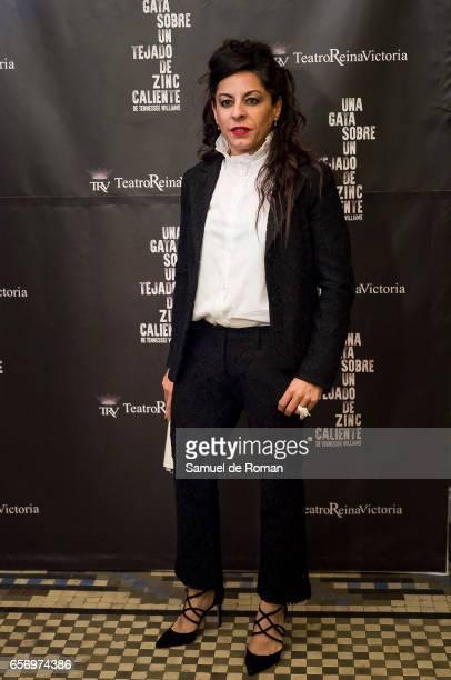 Cristina Medina attends 'Una Gata Sobre Un Tejado de Zinc Caliente' Madrid Premiere on March 23 2017 in Madrid Spain