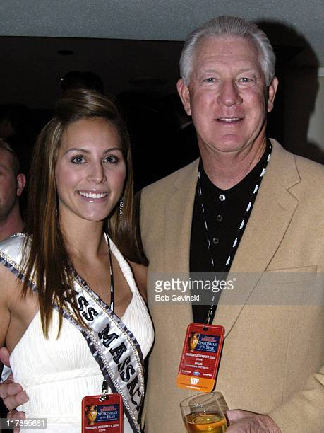 Cristina Nardozzi Miss Massachusetts 2005 and John Havlicek