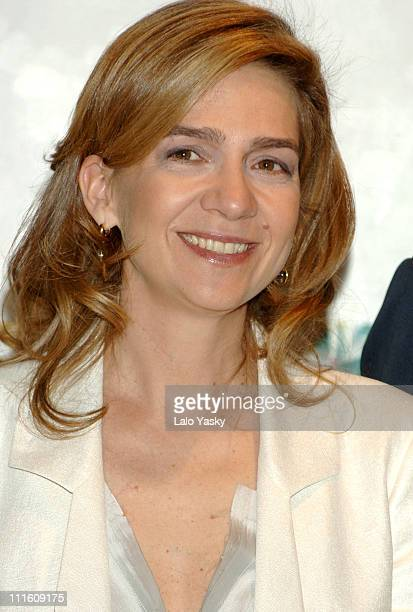 Cristina Of Spain during Cristina Of Spain and Husband Inaki Urdangarin Preside the Annual 'Salvador de Madariaga' European Journalism Awards May 8...