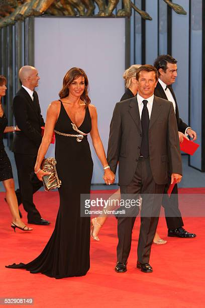 Cristina Parodi and guest during The 63rd International Venice Film Festival 'The Black Dahlia' Premiere Arrivals at Palazzo Del Cinema in Venice...