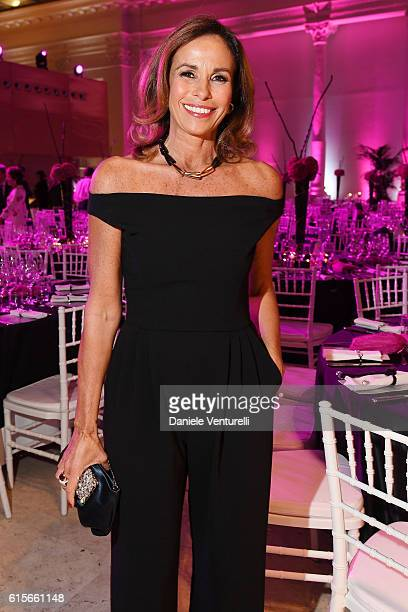 Cristina Parodi attends the Telethon Gala during the 11th Rome Film Fest on October 19 2016 in Rome Italy