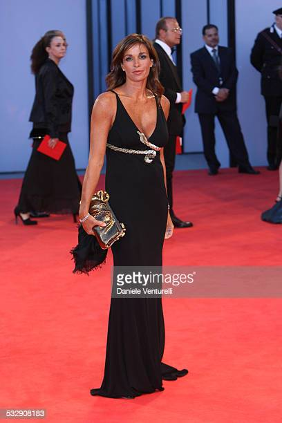 Cristina Parodi during The 63rd International Venice Film Festival 'The Black Dahlia' Premiere Arrivals at Palazzo Del Cinema in Venice Lido Italy
