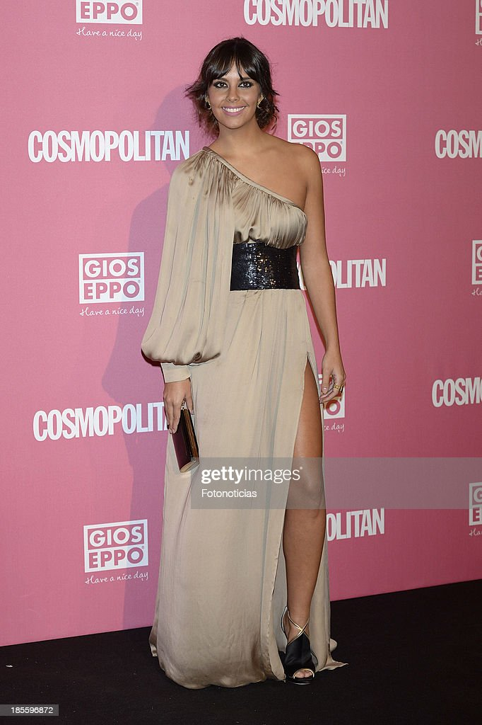 Cristina Pedroche attends Cosmopolitan Fun Fearless Female Awards 2013 at the Ritz Hotel on October 22, 2013 in Madrid, Spain.