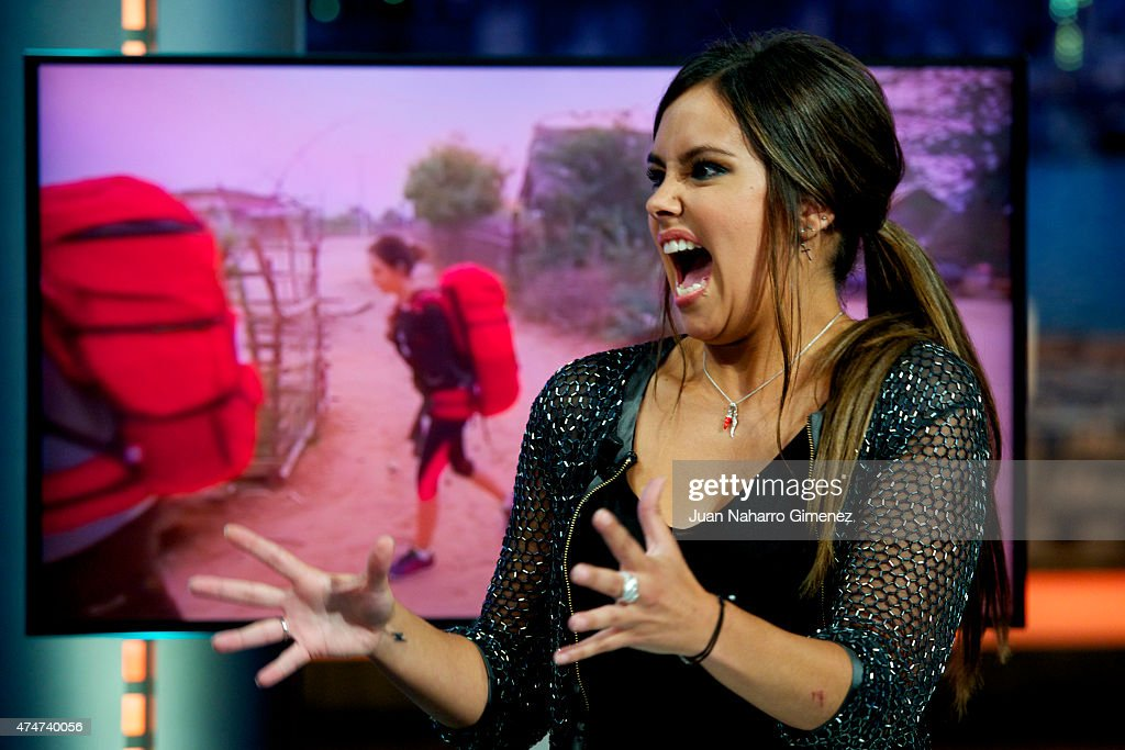 Cristina Pedroche Attends 'El Hormiguero' Tv Show