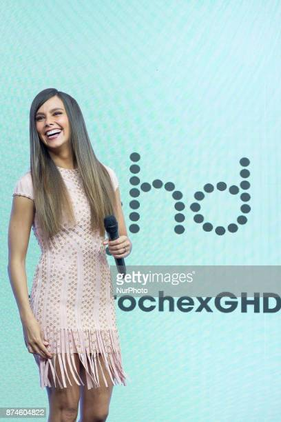 Cristina Pedroche attends GHD New Looks presentation at Nueva Carolina on November 15 2017 in Madrid Spain