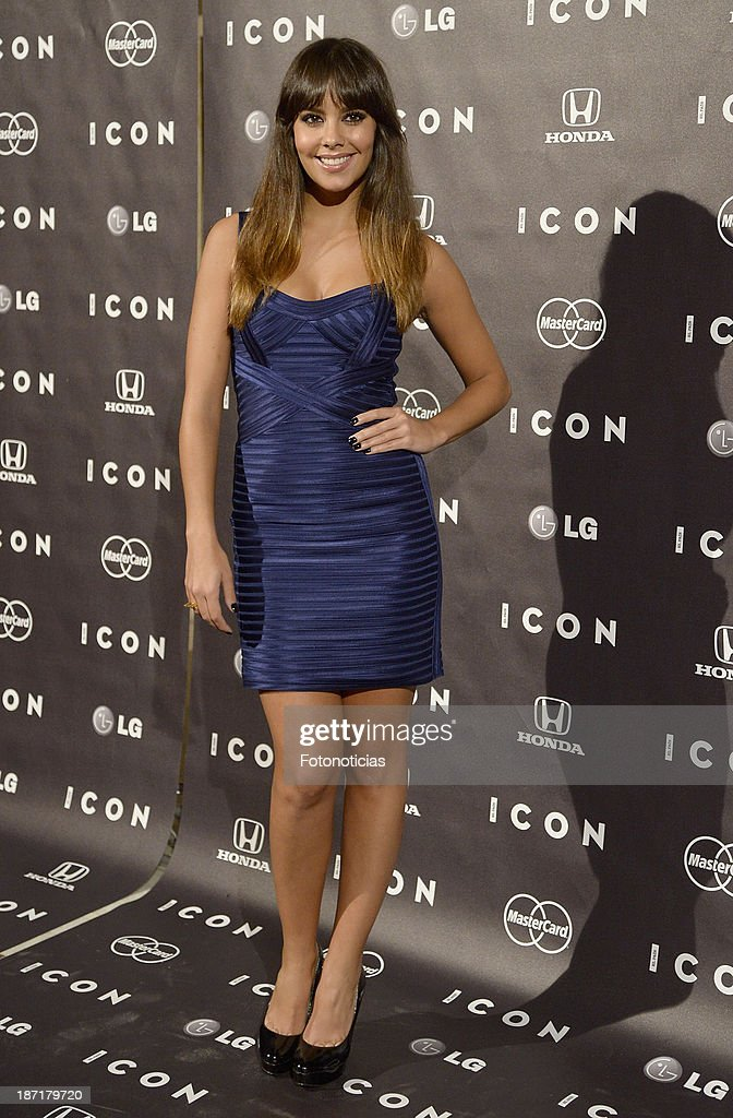Cristina Pedroche attends 'Icon' magazine launch party at the Circulo de Bellas Artes on November 6, 2013 in Madrid, Spain.