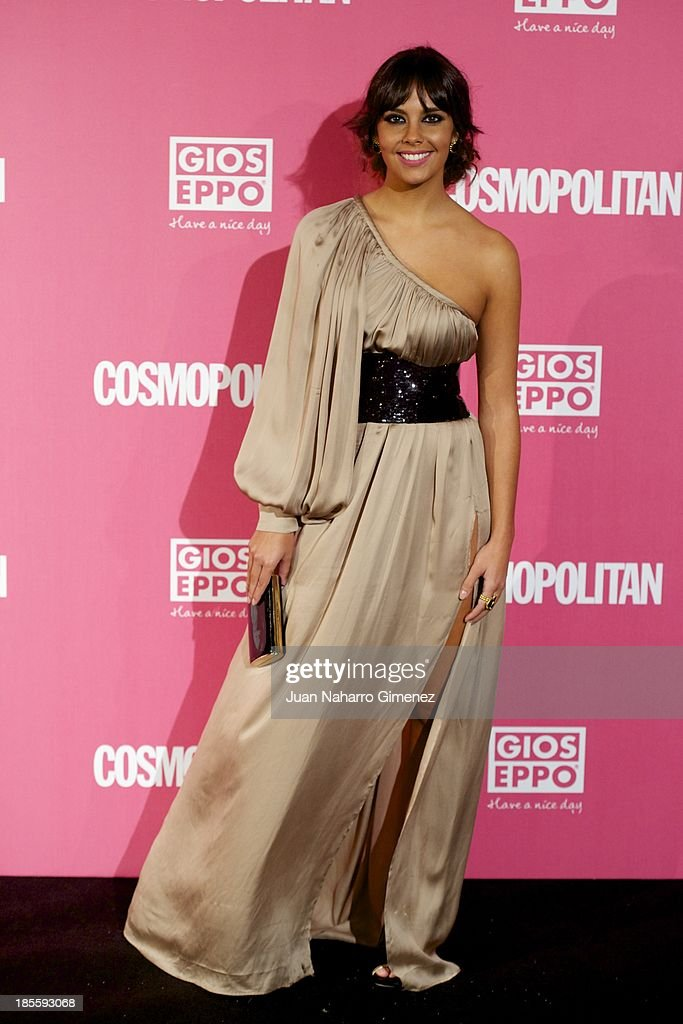 Cristina Pedroche attends the Cosmopolitan Fun Fearless Female Awards 2013 at the Ritz Hotel on October 22, 2013 in Madrid, Spain.