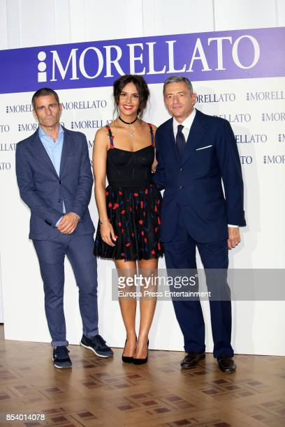 Cristina Pedroche attends the 'Morellato party' photocall at Alma Club on September 22 2017 in Madrid Spain