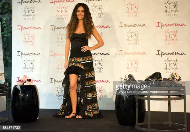 Cristina Pedroche is presented as the new Ipanema Girl 2017 on May 9 2017 in Madrid Spain