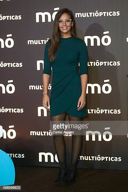 Cristina Pedroche present the Multiopticas new collection on November 24 2015 in Madrid Spain