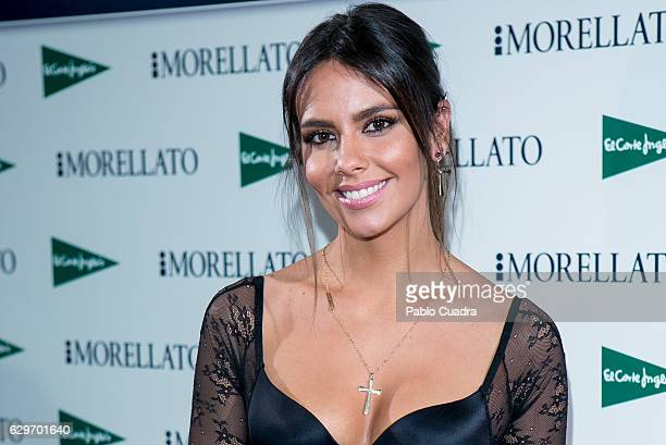 Cristina Pedroche presents Christmas Jewelry Collection by Morellato at El Corte Ingles Store on December 14 2016 in Madrid Spain