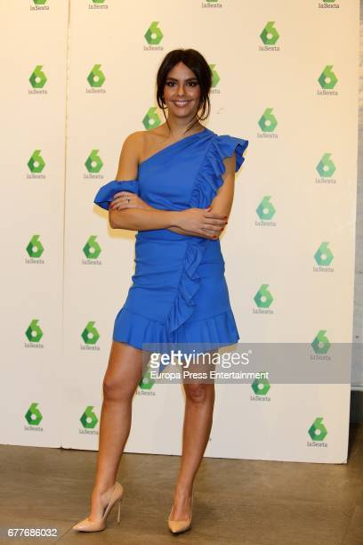 Cristina Pedroche presents the new Tv programme 'dentro de'on May 3 2017 in Madrid Spain