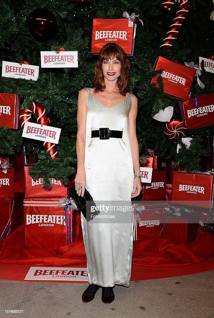 Cristina Piaget attends the inauguration of Beefeater London Market at the Palacio de Cibeles on December 6, 2012 in Madrid, Spain.