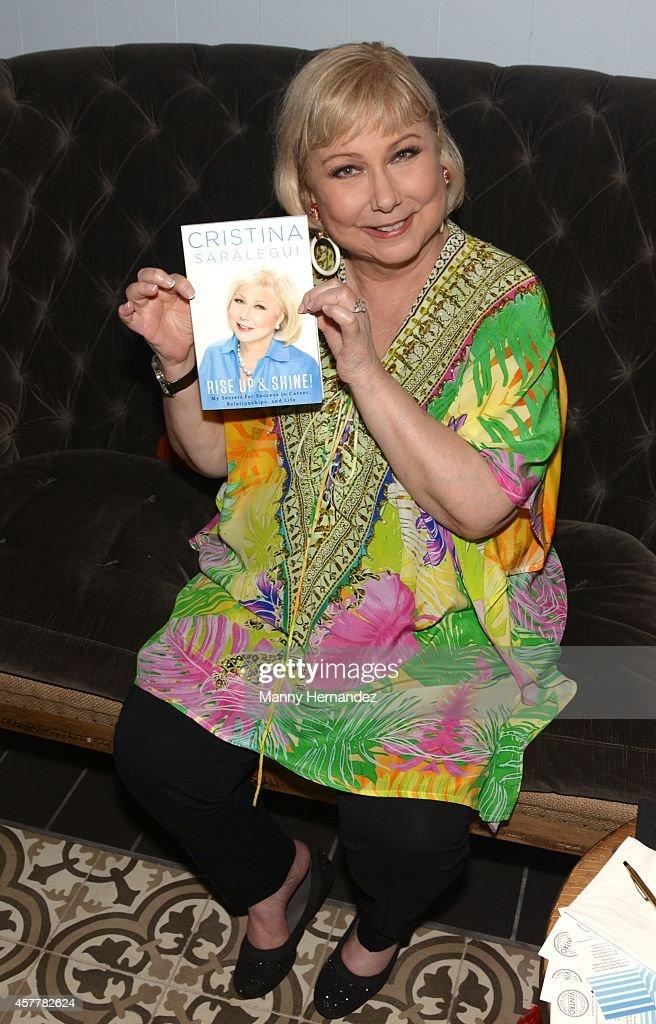 Cristina Saralegui Book Launch