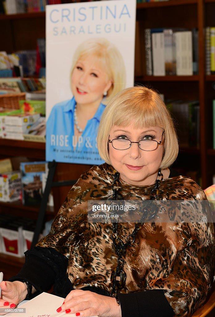 Cristina Saralegui Book Signing