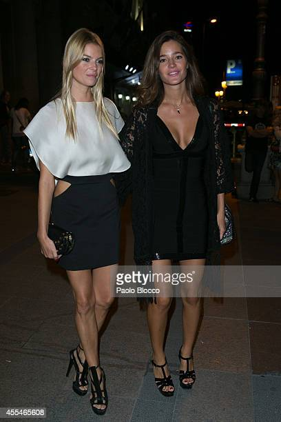 Cristina Tosio and Malena Costa attends FIBA Private Party on September 14 2014 in Madrid Spain