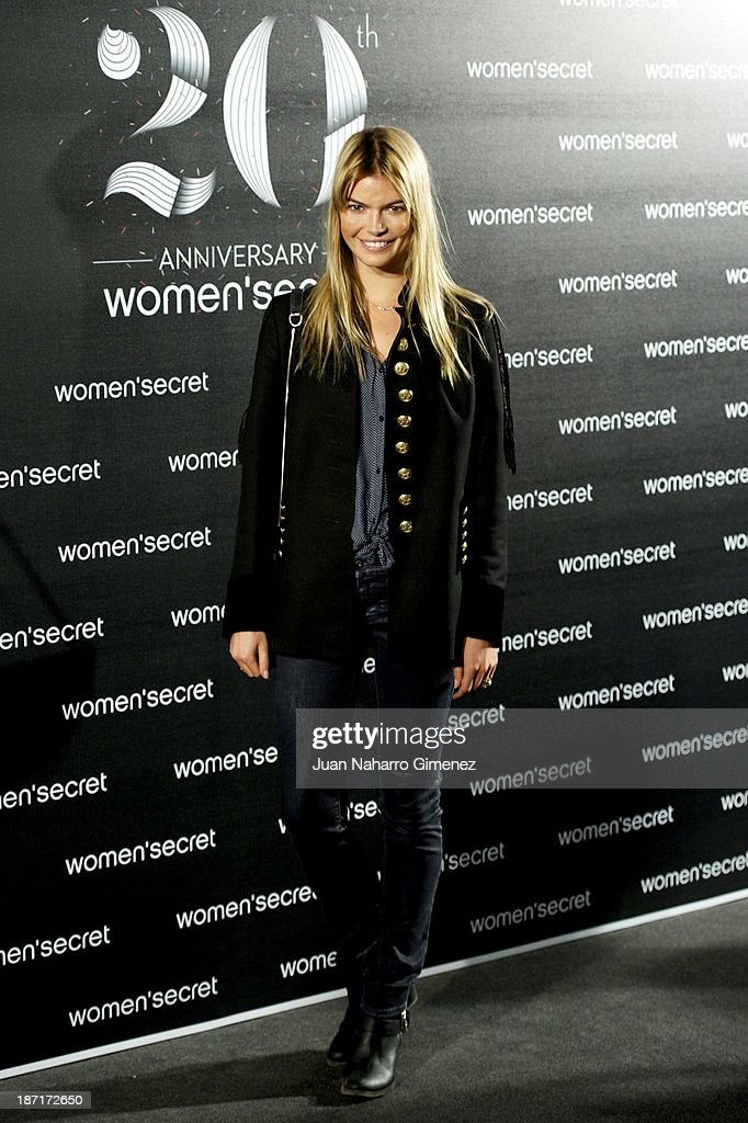 Cristina Tosio attends Women'secret New Collection presentation 20th anniversary at Botanic Garden on November 6, 2013 in Madrid, Spain.