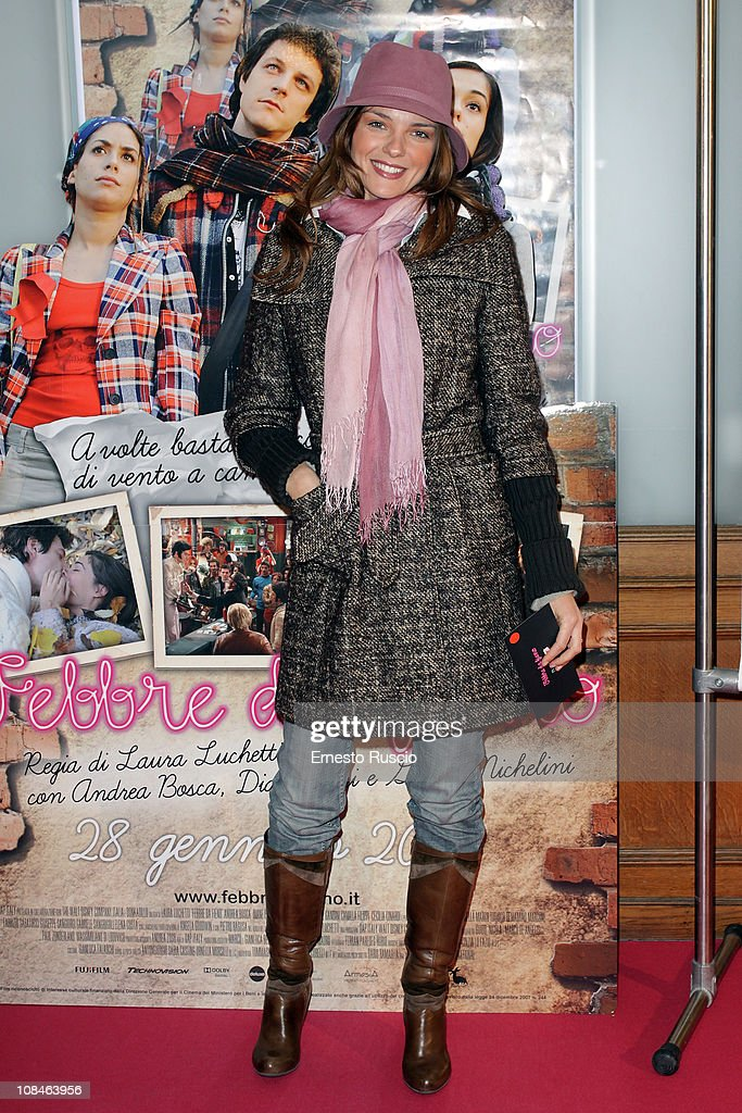 Cristine Filangeri attends the 'Febbre Da Fieno' premiere at Emassy Cinema on January 27, 2011 in Rome, Italy.