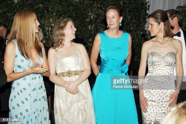 Cristine Greeven Cuomo Nathalie Kaplan Andrea Fahnestock and Cosby George attend THE CONSERVATORY BALL at The New York Botanical Garden on June 3...