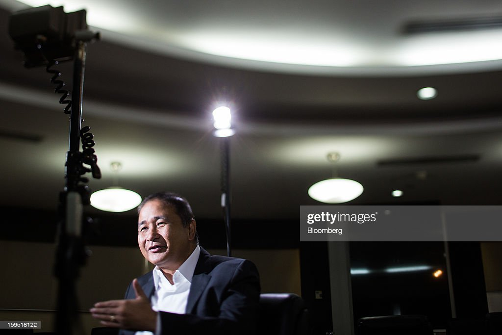 Cristino Naguiat, chairman of the Philippine Amusement & Gaming Corp., speaks during an interview in Manila, the Philippines, on Tuesday, Jan. 15, 2013. Annual revenue from gaming may rise to $10 billion in 2017 once Manila's Entertainment City is fully operational, Naguiat said. Photographer: Julian Abram Wainwright/Bloomberg via Getty Images