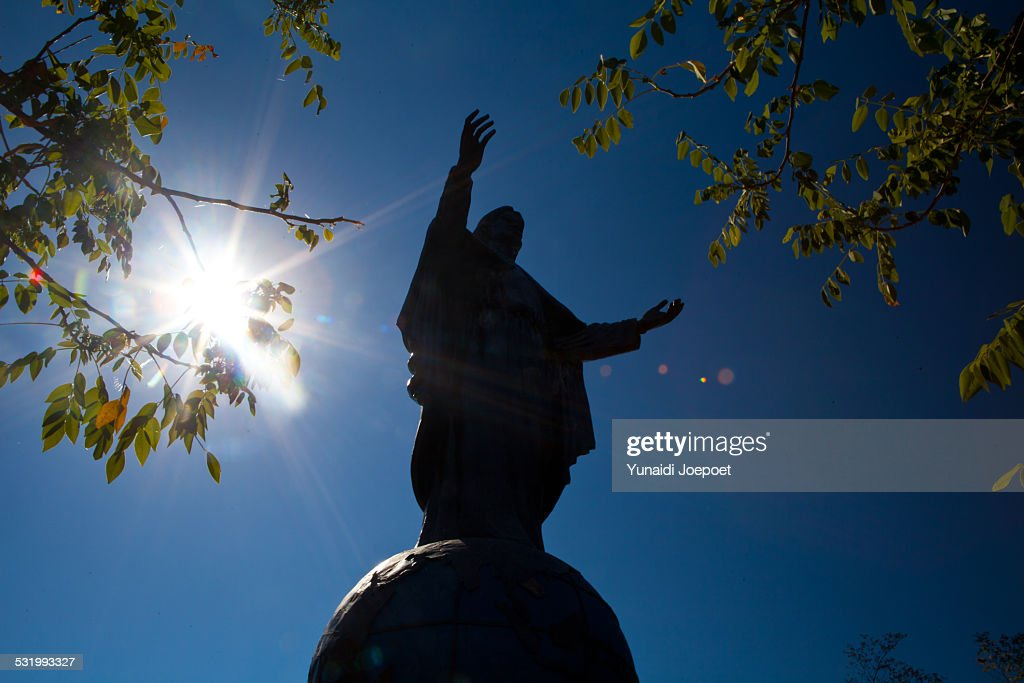 Cristo Rei of Dili : Stock Photo