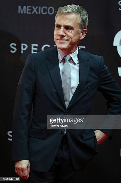 Cristoph Waltz attends the red carpet of the 'Spectre' Premiere at Auditorio Nacional on November 02 2015 in Mexico City Mexico
