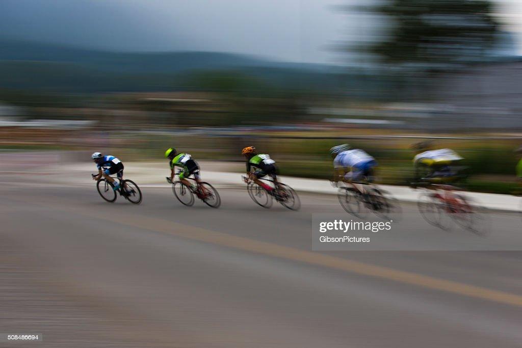 Criterium Road Bike Race : Stock Photo