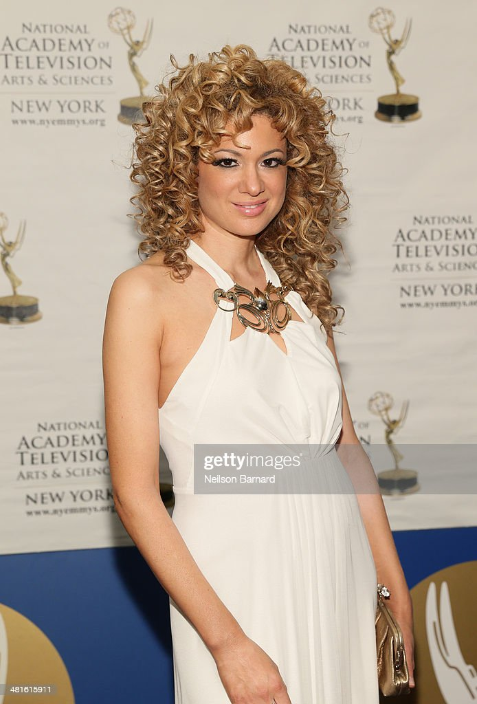 Critically acclaimed, GRAMMY Award-winning violinist Miri Ben-Ari arrives at the 57th Annual New York Emmy awards at Marriott Marquis Times Square on March 30, 2014 in New York City.