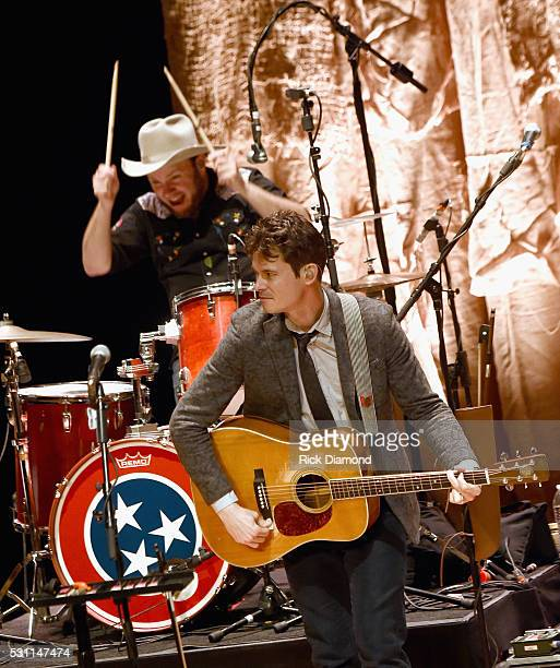 Critter Fuqua and Ketch Secor of Old Crow Medicine Show Celebrates 50th Anniversary of Bob Dylan's 'Blonde on Blonde' in the Country Music Hall of...