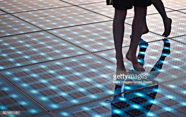 Croatia, Dalmatia, Solar panels as a dance floor