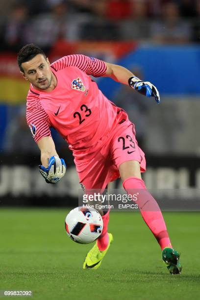 Croatia goalkeeper Danijel Subasic
