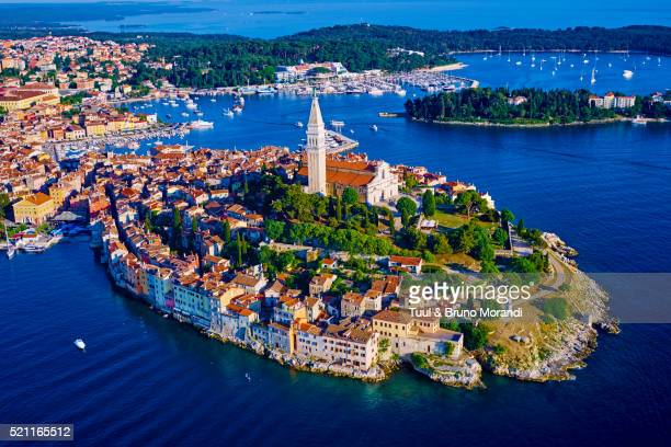 Croatia, Istria, old town of Rovinj