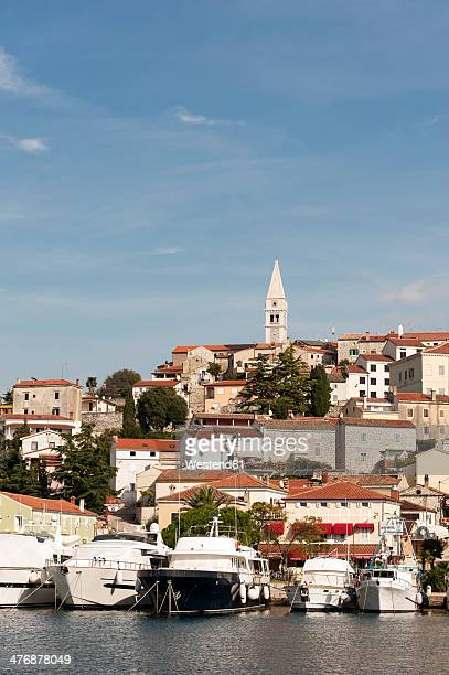 Croatia, Istria, Vrsar, Parish Church of St. Martin above the harbour