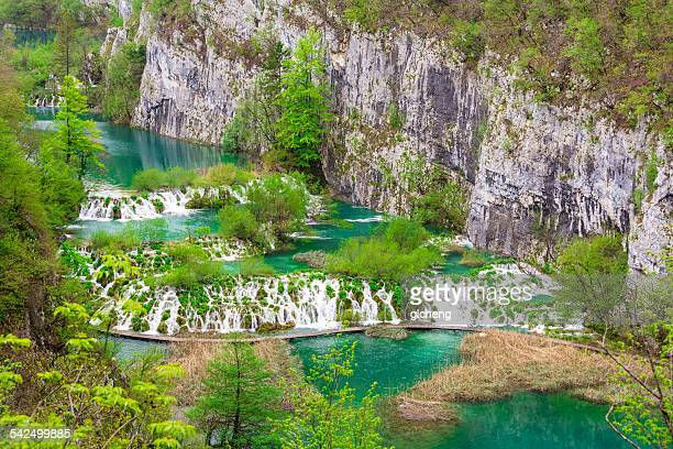 Croatia, Plitvice Lakes National Park, Plitvice Lakes