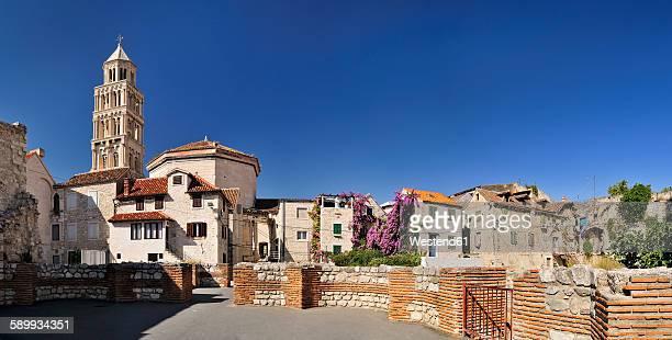 Croatia, Split, Cathedral of Saint Domnius, Campanile