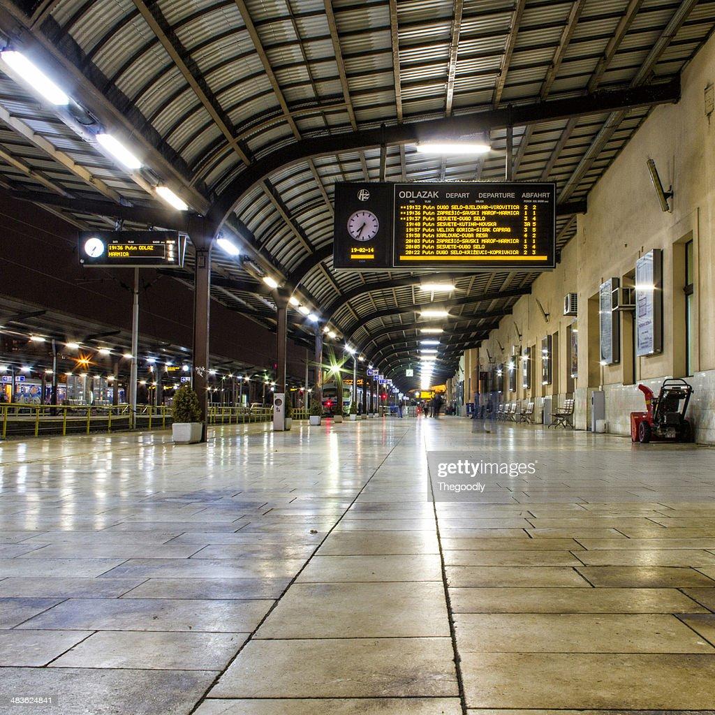 Croatia, Train platform