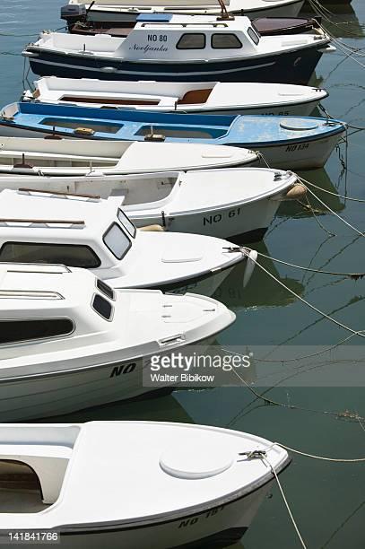 CROATIA-Kvarner Region-NOVI VINODOLSKI: Boat Marina