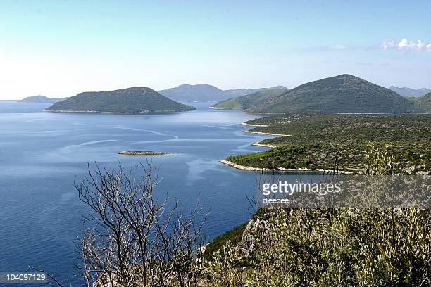 Croatian costline
