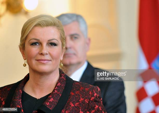 Image result for kolinda grabar-kitarović photos