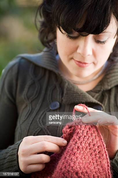 crochet in pink