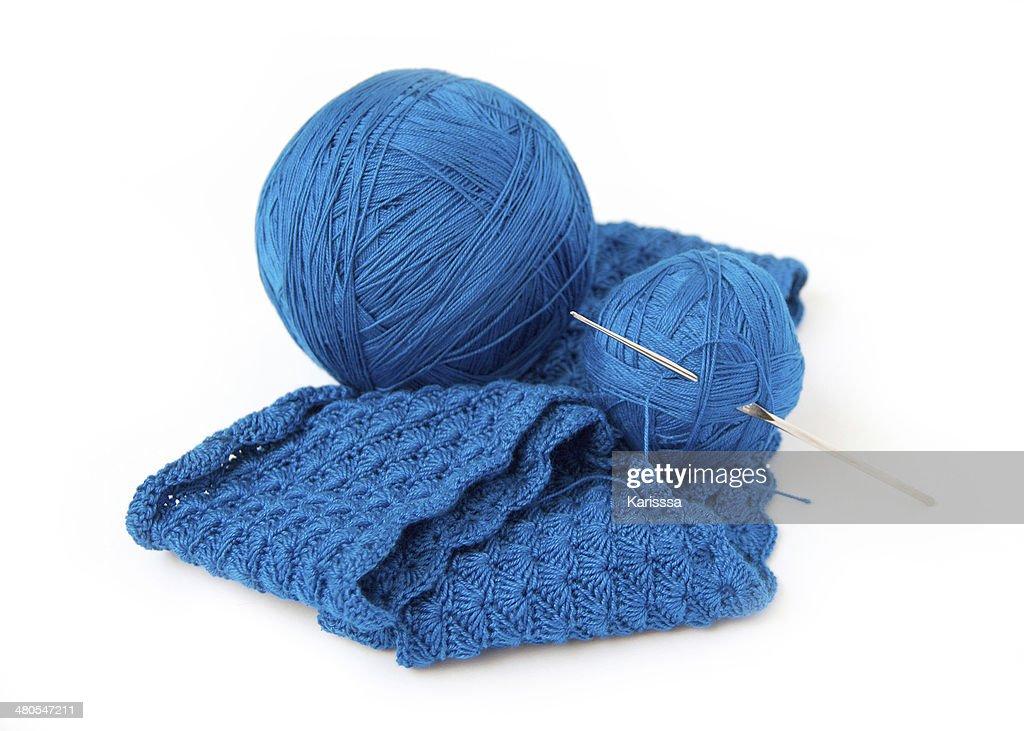 Juego de Crochet : Foto de stock