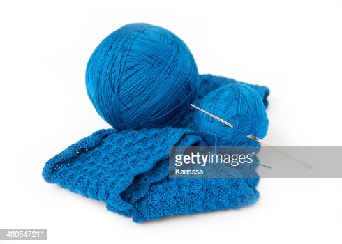 Conjunto de Crochet : Foto de stock
