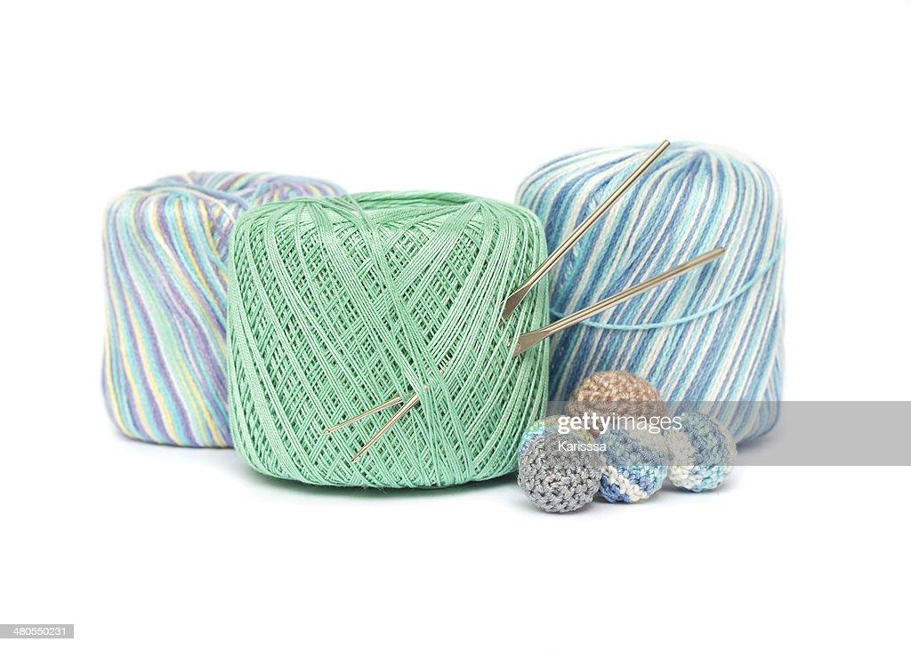 Crochet set : Stock Photo